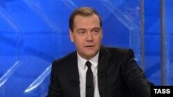 Ресей премьер-министр Дмитрий Медведев.