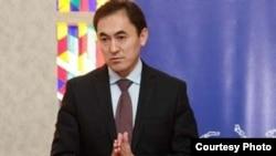 """Мекен ынтымагы"" саясий партиясынын лидери Темирбек Асанбеков"