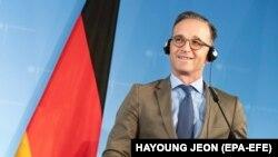 هایکو ماس وزیر خارجۀ جرمنی ۱۹ اگست ۲۰۱۹