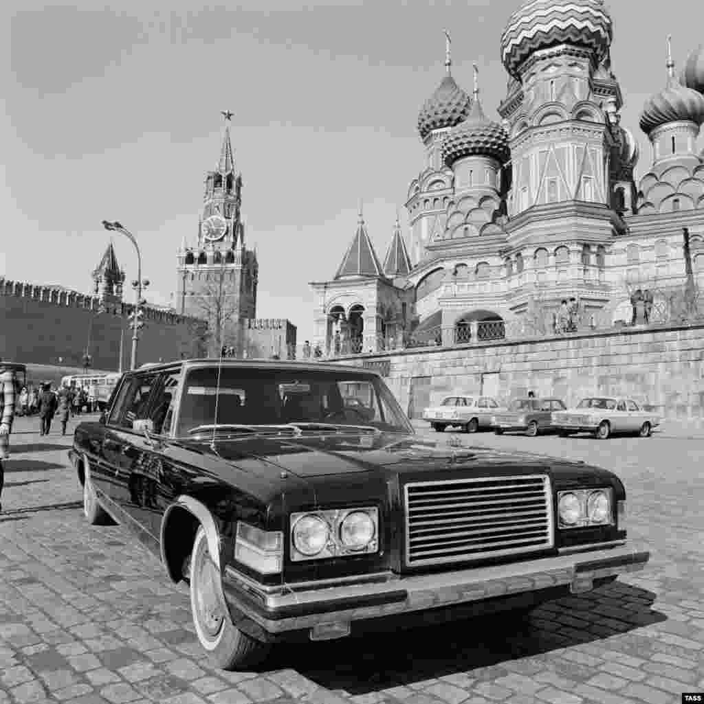 The Soviet ZiL-114 limousine was reserved for top party and government officials.