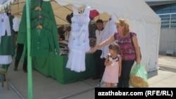 Aşgabadyň bazary (arhiw suraty)
