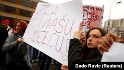 Proteste la Sarajevo