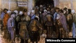 Вінсэнт ван Гог, «Нацыянальная лятарэя» (1883)