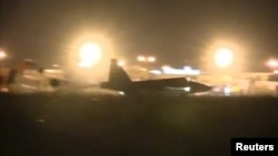 Російський літак у Сирії, 1 жовтня 2015 року