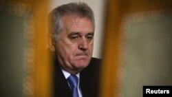Новоизбраниот претседател на Србија, Томислав Николиќ.
