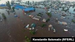 Наводнение в Тулуне. Лето 2019 года
