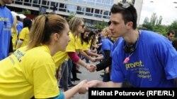Sarajevo: Maturantski ples za Guinnessa