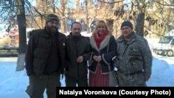 Наталія Воронкова на груповій фото