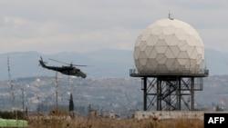 Suriyanın Latakya bölgəsində Rusiya bazası, arxiv fotosu