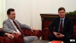Претседателот Ѓорге Иванов и премиерот Никола Груевски
