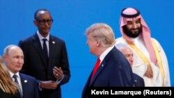 Iамеркан президент Трамп Долналд дакъалоцуш ву Аргентинин коьртачу гIалахь Буэнос-Айресехь дIаьйоьдучу G-20 саммитехь.