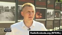 Андрій Бахтов, заступник командира батальйону «Миротворець» у 2014 році