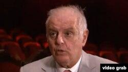 Բեռլինի պետական նվագախմբի գեղարվեստական ղեկավար և գլխավոր դիրիժոր Դանիել Բարենբոյմը: