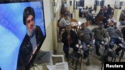 """Одно из телеобращений лидера """"Хезболлах"""""""