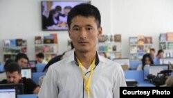 Уланбек Эгизбаев в Душанбе, 12 сентября 2014 года