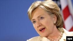 Dövlət katibi Hillari Klinton
