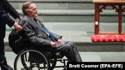 Джордж Буш-старший був госпіталізований 22 квітня