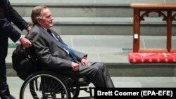 Бывший президент США Буш-старший.