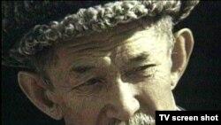 Қазақ композиторы Шәмші Қалдаяқов. Сурет «Қайран, Шәмші» деректі фильмінен алынды.