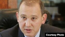 «Қазатомпром» ұлттық компаниясының бұрынғы басшысы Мұхтар Жәкішев. 2 сәуір 2009 жыл.