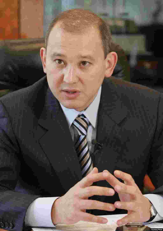 "Kazakhstan - Mukhtar Dzhakishev, Zhakishev. President of Kazatomprom company, 02Apr2009 - Мухтар Джакишев, президент компании ""Казатомпром""."