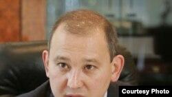 """Мұхтар Жәкішев,""""Қазатомпромның"""" президенті болып тұрған кезінде."""