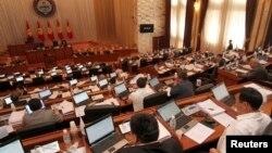 Кыргыз парламентинин жыйыны.