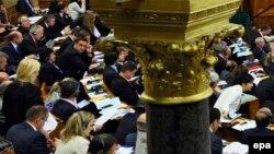 Pamje nga Parlamenti i Hungarisë