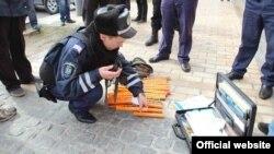 Раніше міліція повідомила про вилучення піротехніки, ножів і кастетів у більше ніж 10 учасників акції