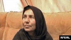 Kaftar parancsnok, az első női katonai vezető Afganisztánban. Ez a kép 2008 nyarán készült.