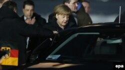Канцлер Німеччини Ангела Меркель у Москві, 6 лютого