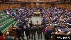Заседание британского парламента.