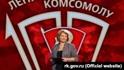 Лариса Опанасюк, вице-премьер подконтрольного России правительства Крыма, октябрь 2018 года