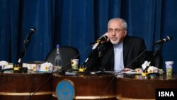 Министр иностранных дел Ирана Мохаммад Джавад Зариф. Тегеран, 3 декабря 2013 года.