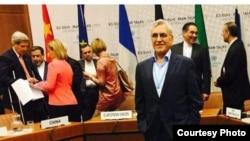 Abdol Rasool Dorri Esfahani, a member of Iran's nuclear team