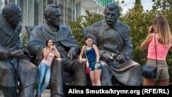 Памятник Ялтинской конференции