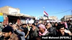 مظاهرة في السليمانية 24 شباط 2011