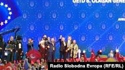 Բոսնիա և Հերցեգովինա - Թուրքիայի նախագահ Ռեջեփ Էրդողանի նախընտրական հանդիպումը Սարաևոյում, 20-ը մայիսի, 2018թ․