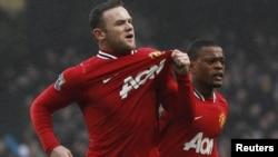 Англия құрамасының шабуылшысы Уэйн Руни. Манчестер, 8 қаңтар 2012 жыл