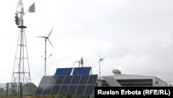 Күн энергетикалық қондырғысы. Астана. 10 шілде, 2015 жыл.