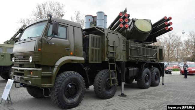 Выставка военной техники, Севастополь, апрель 2019 года