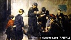 Жан Жафруа, «Галодныя» (1886).