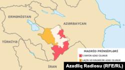 Azerbaijan -- Karabakh map (Madrid principles)