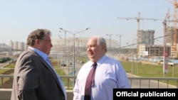 Сергей Кисляк и Владимир Волков. Фото с сайта правительства Мордовии.