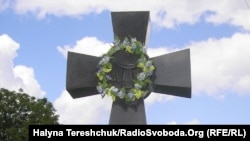 Могила отця Ярослава Лесіва у Болехові