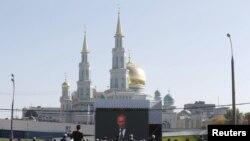 Moskvada Avropanın ən böyük məscidi açıldı