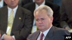 Predsjednik Srbije Slobodan Milošević prvog dana mirovnih pregovora 1. novembra 1995. godine.