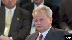 Predsjednik Srbije Slobodan Milošević na početku pregovora u Dejtonu, 1. novembar 1995. godine