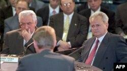 Franjo Tuđman i Slobodan Milošević, Dejton 1. novembar 1995. godine