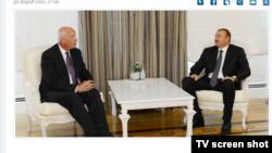 Azərbaycan prezidentinin saytından, 2012-ci il